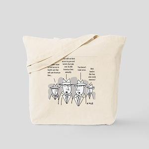 MEN_Health Care_Guns_Leaders Tote Bag