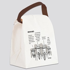 MEN_Health Care_Guns_Leaders Canvas Lunch Bag