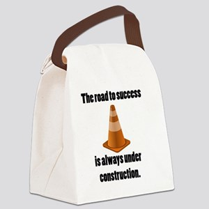road to success Canvas Lunch Bag