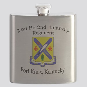 2nd Bn 2nd Infantry Flask