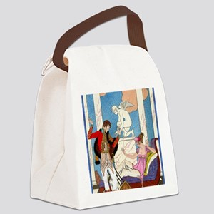 IPAD 11 NOV  BARBIER LOVE Canvas Lunch Bag