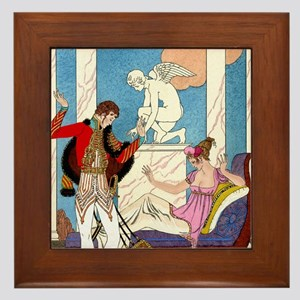 IPAD 11 NOV  BARBIER LOVE Framed Tile