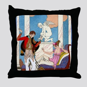 IPAD 11 NOV  BARBIER LOVE Throw Pillow