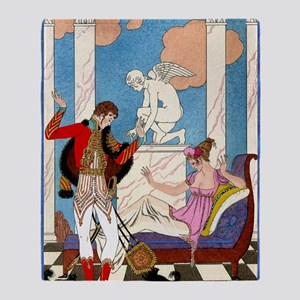 IPAD 11 NOV  BARBIER LOVE Throw Blanket