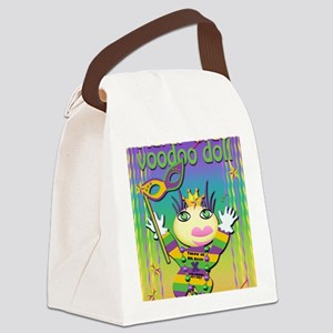 MGvoodooDollIn13x17 Canvas Lunch Bag