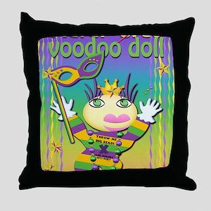 MGvoodooDollIn13x17 Throw Pillow
