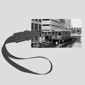 bw ctatrain 202 Large Luggage Tag