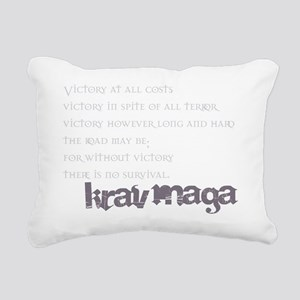 KravMaga - Victory  Surv Rectangular Canvas Pillow