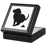 Doggy Accident Keepsake Box