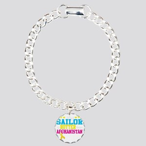 sailorhotterafghan Charm Bracelet, One Charm