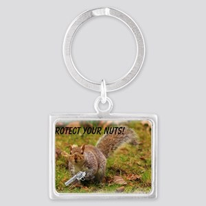 Protect Your Nuts 4000-400 Landscape Keychain