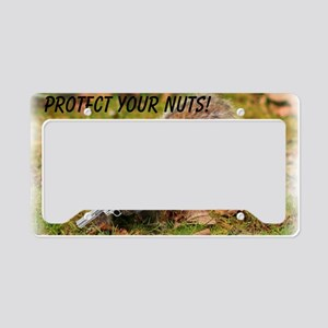 Protect Your Nuts 4000-400 License Plate Holder