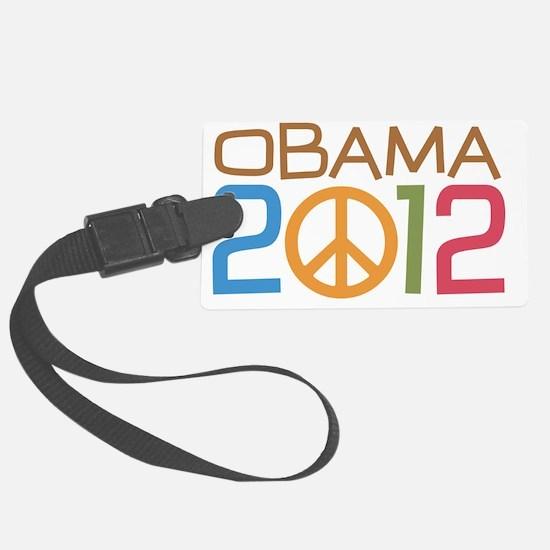 Obama Peace Sign Luggage Tag