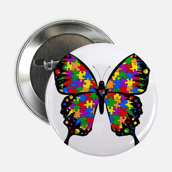 "autismbutterfly6inch 2.25"" Button"