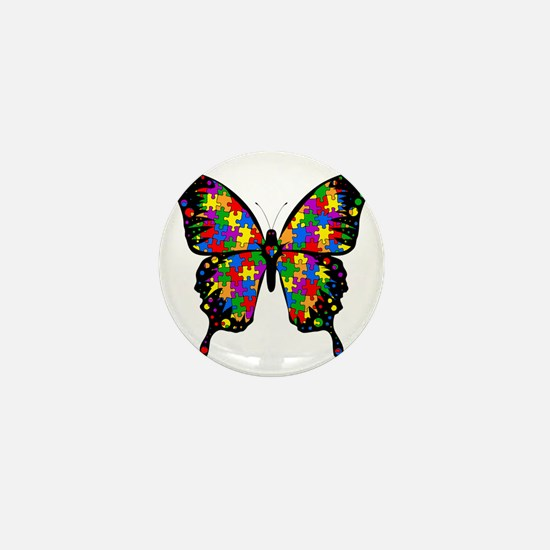 autismbutterfly6inch Mini Button