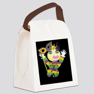 MGvoodooDollNtyBre Canvas Lunch Bag