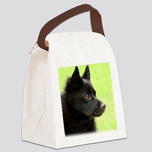 Schipperke 9Y506D-026 Canvas Lunch Bag