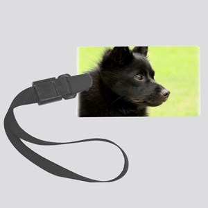 Schipperke 9Y506D-026 Large Luggage Tag