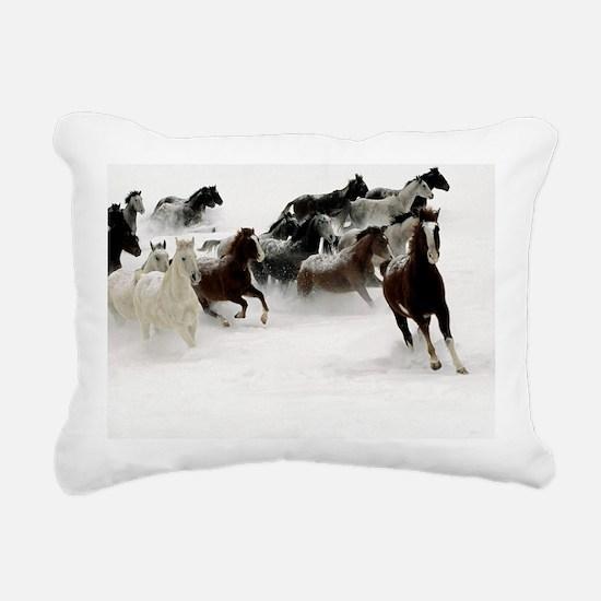 blanket2 Rectangular Canvas Pillow