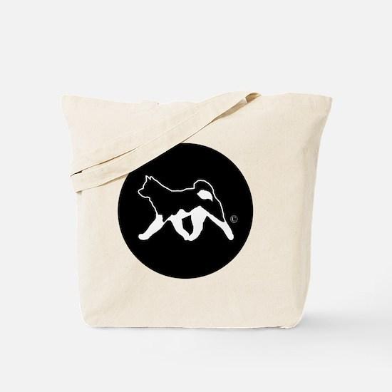 Rakki-Inu Akita Rescue (embroidery) Tote Bag