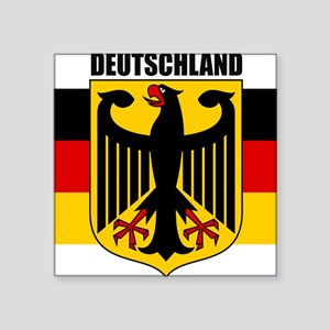 "Germany COA 2 Square Sticker 3"" x 3"""