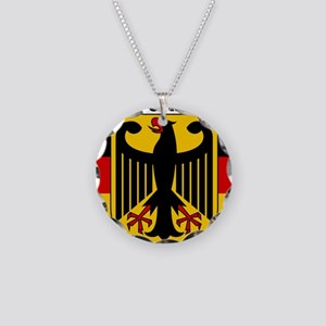 Germany COA 2 Necklace Circle Charm