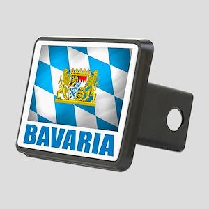 Bavaria Flag  COA Rectangular Hitch Cover