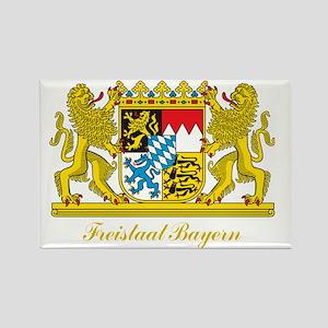 Bavaria COA Rectangle Magnet