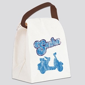 sasha Canvas Lunch Bag