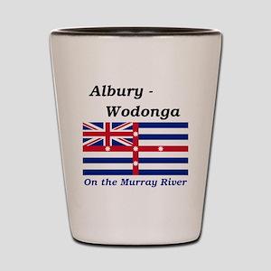 Albury-Wodonga Shot Glass