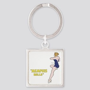 miss_belle Square Keychain