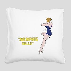 miss_belle Square Canvas Pillow