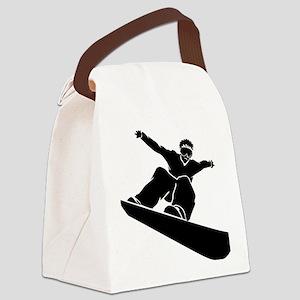 snowb11 Canvas Lunch Bag