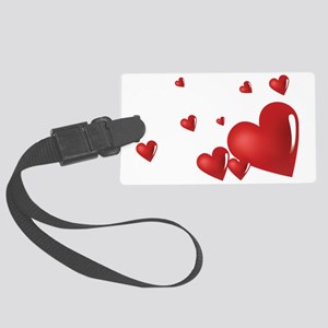 heart04 Large Luggage Tag