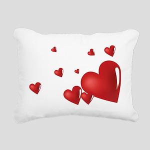 heart04 Rectangular Canvas Pillow