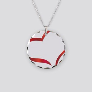 heart03 Necklace Circle Charm