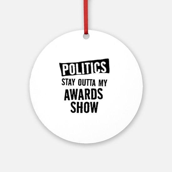Awards Show Round Ornament