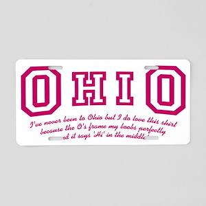 cougar-town-ohio Aluminum License Plate
