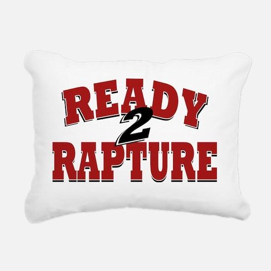 Ready to Rapture Rectangular Canvas Pillow