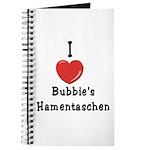 Love Bubbie's Hamentaschen Journal
