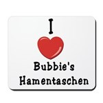 Love Bubbie's Hamentaschen Mousepad