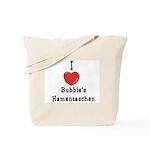 Love Bubbie's Hamentaschen Tote Bag