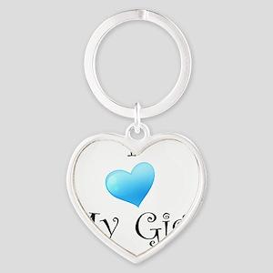 luvgigi Heart Keychain