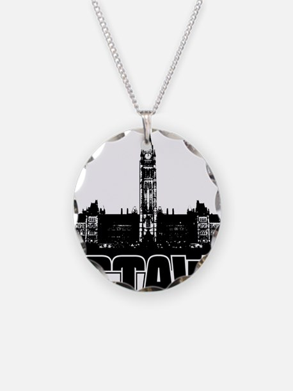 Ottawa Skyline Necklace
