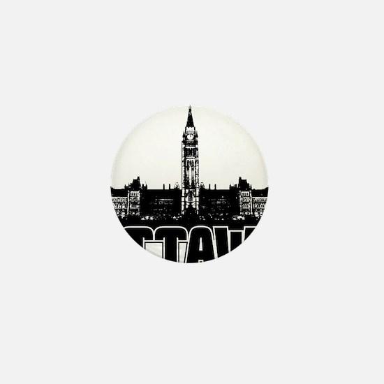 Ottawa Skyline Mini Button
