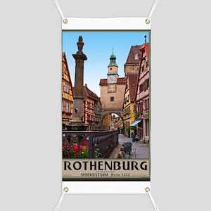 Rothenburg od Tauber - Markusturm Banner
