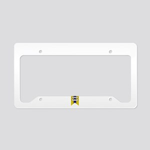 Vancouver Script B License Plate Holder