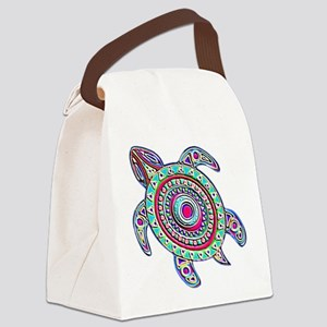ARTSY TURTLE Canvas Lunch Bag