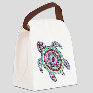 ARTSY TURTLE Canvas Lunch Bag