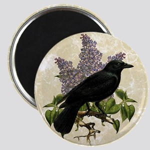 lilac-and-crow_9x12 Magnet